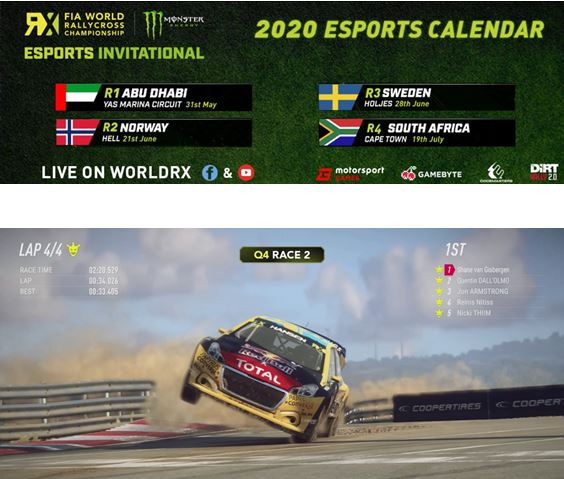 World RX announces further Esports events - schedule