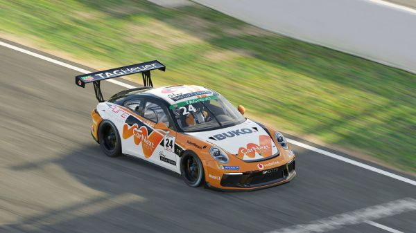 Virtual Porsche Supercup Barcelona - livestream,schedule and entry list