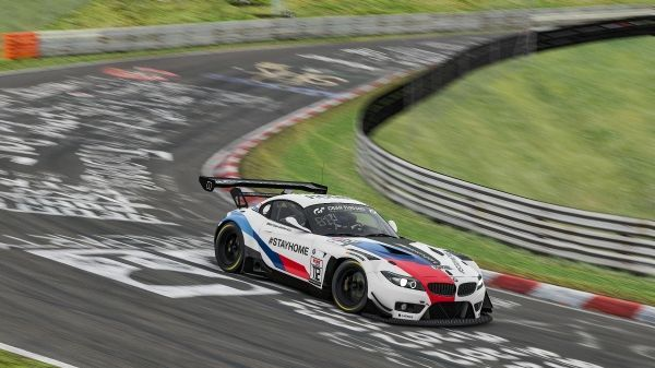 BMW cars compete in special liveries in Digital Nürburgring Endurance Series powered by VCO
