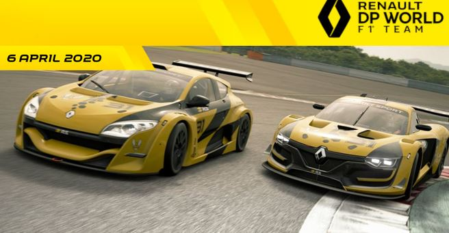 Esteban Ocon and Hadrien David lead the field in first Renault eSports event