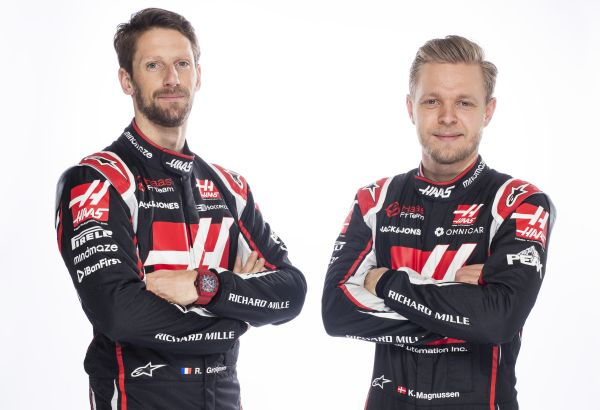Haas F1 Barcelona test 01 - driver line-up
