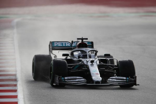 The Mercedes-AMG Petronas F1 Team completes 61 laps on day two of the second test