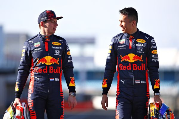 Aston Martin Red Bull Racing F1 Barcelona test 1 driver line-up
