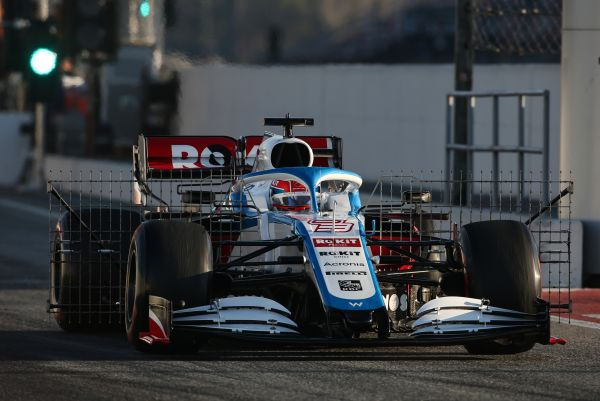 ROKiT Williams F1 Barcelona test 2 day 1 review