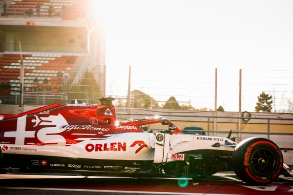 Productive final test day for Alfa Romeo Racing ORLEN in Barcelona