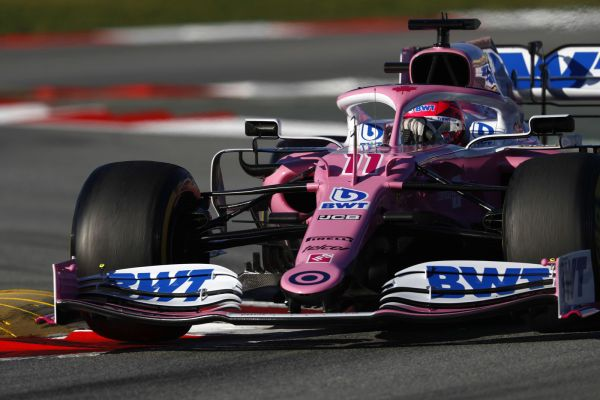 BWT Racing Point F1 signs off productive testing with Sergio Perez today