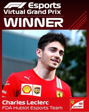 F1 Virtual Grand Prix Australia Results