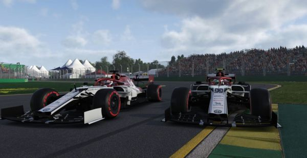 Top-5 finish for Antonio Giovinazzi on F1 Virtual Grand Prix debut