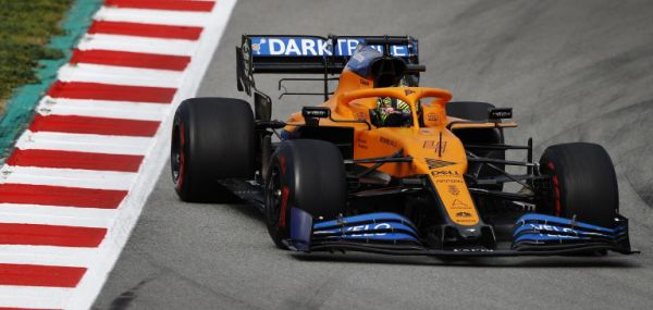 McLaren F1 Barcelona test 2 day 2 - Lando Norris out
