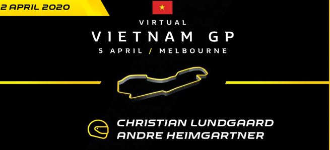 Christian Lundgaard joined by V8 Supercar driver for official virtual F1 race