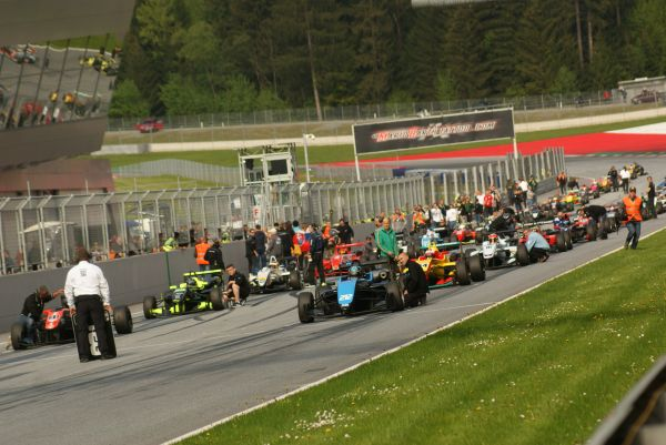 Red Bull Ring - Drexler Automotive Formula Cup season opener cancelled