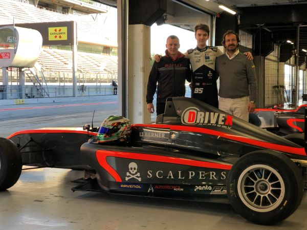Drivex reinforces F4 Spain driver line-up with Valdemar Eriksen
