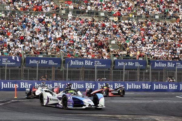 Alexander Sims finishes the Mexico City E-Prix in fifth position after strong recovery performance.
