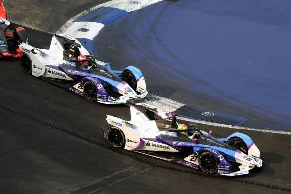 Team standings in FIA Formula E after Mexico ePrix