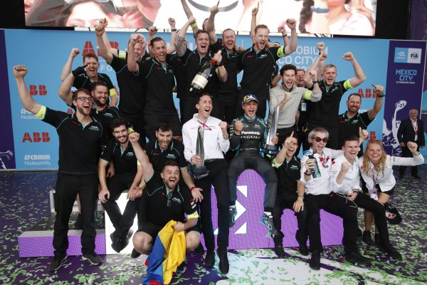 Driver standings in FIA Formula E after Mexico ePrix