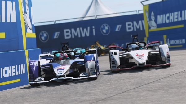 Maximilian Günther in the points at the virtual home game for BMW i Andretti Motorsport in Berlin