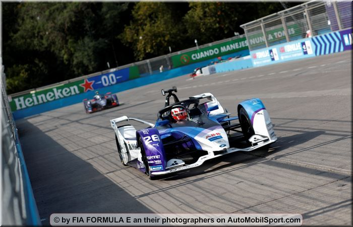 BMW I Andretti with Lucas Auer and Kyle Kirwood in Marrakesh test