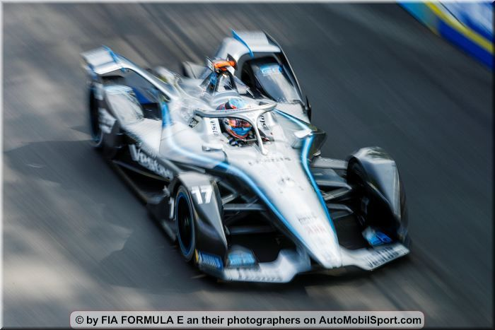 Mercedes Benz with Jake Hughes and Daniel Juncadella in Marrakesh eTest