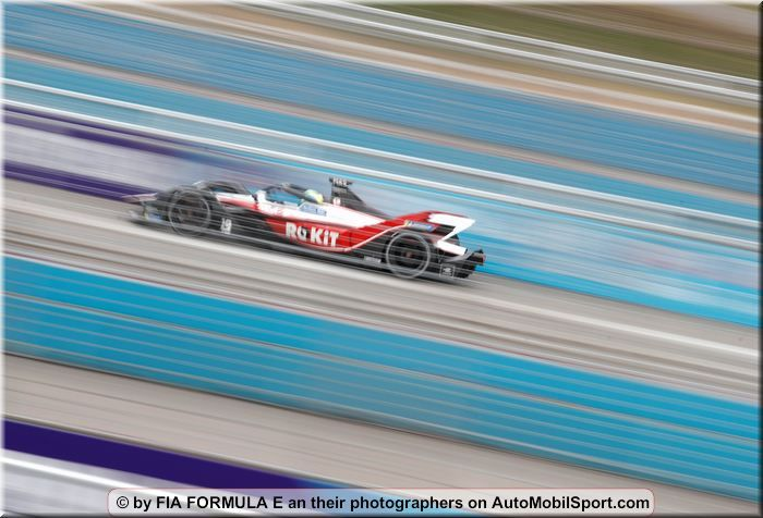 ROKiT Venturi Racing with Norman Nato and Arthur Leclerc in Formula E test