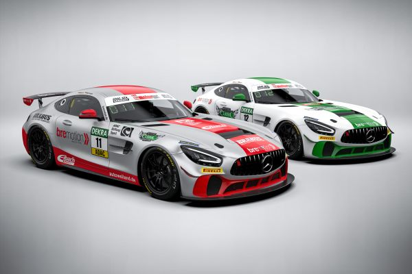 Bremotion with two Mercedes-AMG in the ADAC GT4 Germany