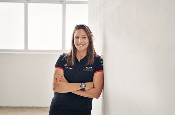 Simona De Silvestro with KÜS Team75 Bernhard in the ADAC GT Masters