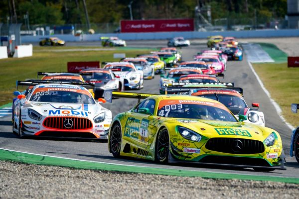 HTP Winward Motorsport with two strong Mercedes pairings in ADAC GT Masters