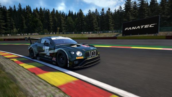 Bentley Racing drivers enter SRO's Esport GT Series Charity Challenge with four Continental GT3s