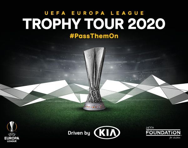 UEFA Europa League Trophy Tour Driven by Kia' Returns in 2020