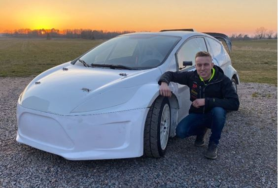 Johansson announces Supercar Lites entry with VGracing and support from Team Färén