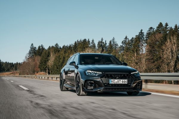 ABT Power S gives Audi RS4 530 hp – new aero components