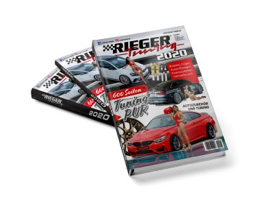 "New edition of the ""Tuning Bible"": Rieger Katalog 2020 to be published end of March"