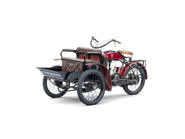 Lesser-known models from SKODA AUTO's 125-year history: The LW three-wheeler from Laurin & Klement