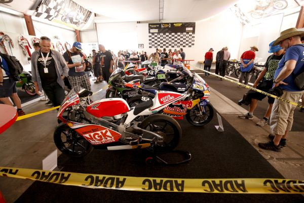 Rolling Grand Prix Museum inspires fans of historic bikes at the HJC Helmets MotoGP Germany