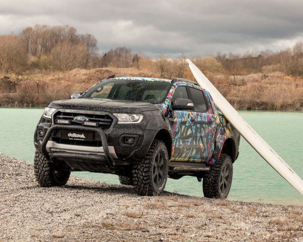 delta4x4s Ford Ranger - Big, Beefy and Beautiful
