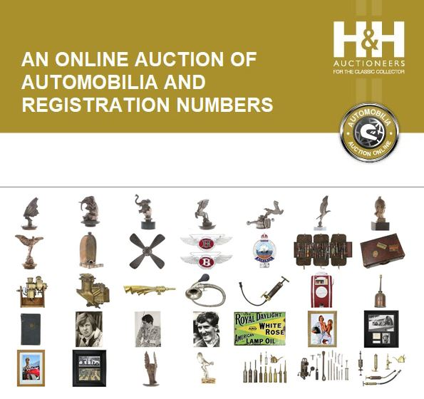 H&H Classics timed Automobilia Auction online ends today