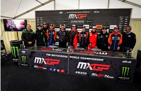 MXGP of Great Britain officially opened the 2020 season with the welcome press conference