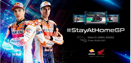 Repsol Honda Team ready up for the #StayAtHomeGP this Sunday in Mugello