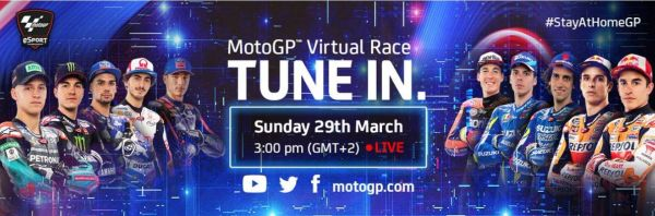 MotoGP™ Virtual Race on Sunday, March 29th at Mugello Circuit