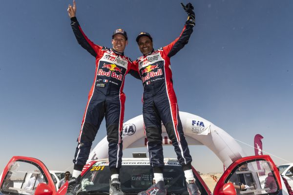 Al-Attiyah wins Qatar Cross-Country Rally for seventh time in nine years