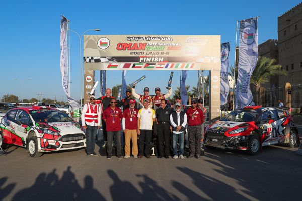 Qatar's Nasser Saleh Al-Attiyah romps to sixth victory in Oman Rally