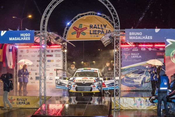 Bruno Magalhaes plots ERC Rally Liepaja comeback