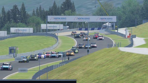 TCR Europe SIM Race 1 - Nagy remporte une troisième victoire consécutive  - Championnat d'Europe 2020