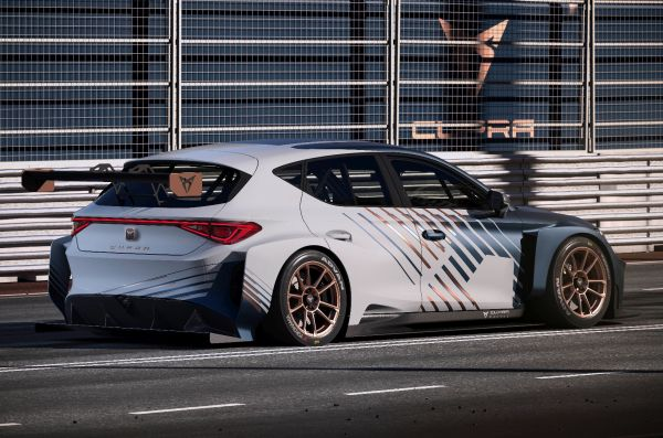 ETCR The new CUPRA e-Racer will be as fast as 270 km/h
