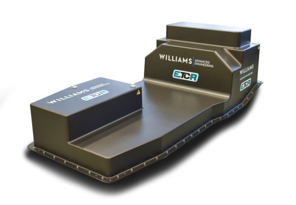 Williams Adv. Engineering's Battery Pack for ETCR completed in just seven months