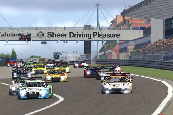 Digital Nürburgring Endurance Series powered by VCO with a strong field of participants for race two