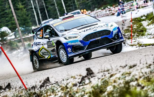 Fourmaux and Yates show form in Sweden