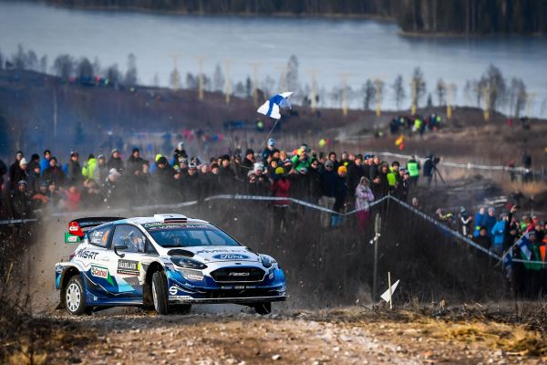 M-Sport Ford World Rally Team's Lappi takes fifth in Sweden
