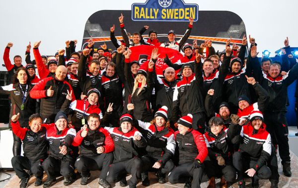 Evans wins, Rovanperä on the podium with stunning drives in the Toyota Yaris WRC
