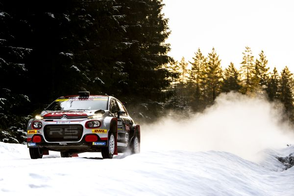 Second successive WRC2 win for the Citroen C3 R5 with Mads Ostberg