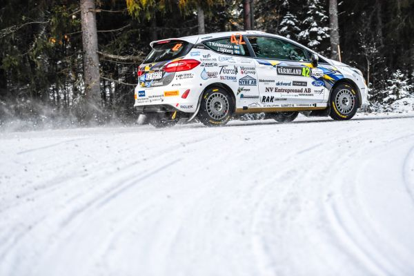 Sweden Rally Final stage WRC2, WRC3 and JWRC classification